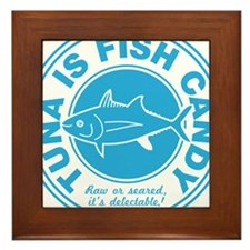 Tunaisfishcandy Framed Tile