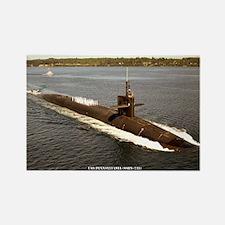 USS PENNSYLVANIA Rectangle Magnet