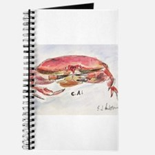 Crab Collage Journal