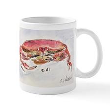 Crab Collage Mug