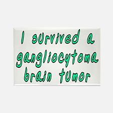 Gangliocytoma brain tumor - Rectangle Magnet