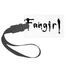 Unique Anime fangirl Luggage Tag