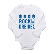 rock_dreidel_baby Body Suit