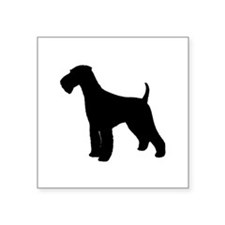 """Airedale Terrier Square Sticker 3"""" x 3"""""""