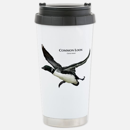 Common Loon Stainless Steel Travel Mug