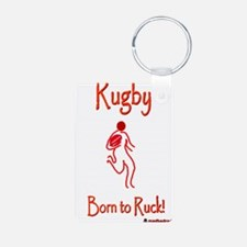 Rugby Born to Ruck 6000 Keychains