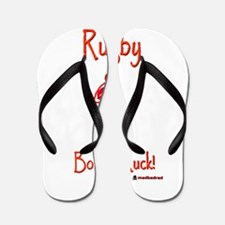 Rugby Born to Ruck 6000 Flip Flops