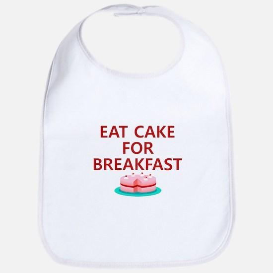Eat Cake For Breakfast Bib