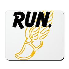Run. Mousepad