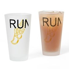 Run. Drinking Glass