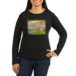 Bella Sicilia Women's Long Sleeve Dark T-Shirt