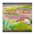 Bella Sicilia Tile Coaster