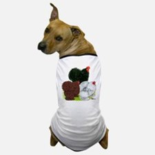Frizzle Cochin Trio Dog T-Shirt