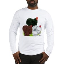 Frizzle Cochin Trio Long Sleeve T-Shirt