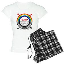 I shot a rainbow Pajamas