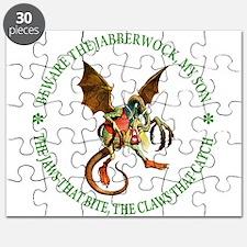 Beware the Jabberwock My Son Puzzle