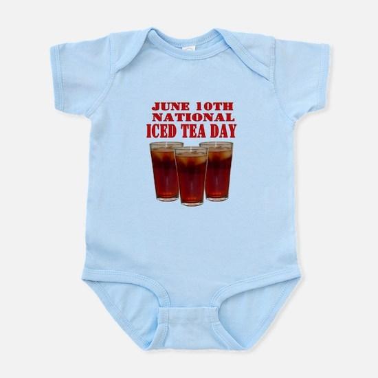 National Iced Tea Day Infant Bodysuit