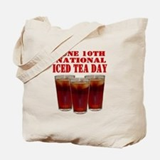 National Iced Tea Day Tote Bag