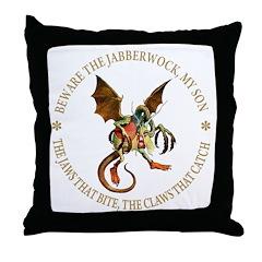 Beware the Jabberwock My Son Throw Pillow