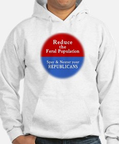 Spay Neuter Republican Jumper Hoody
