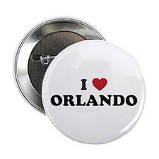 """I Love Orlando Florida 2.25"""" Button"""