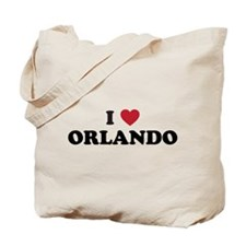 I Love Orlando Florida Tote Bag