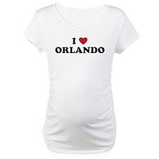 I Love Orlando Florida Shirt