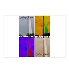 How Great Thou Arch St. Louis Postcards (Package o
