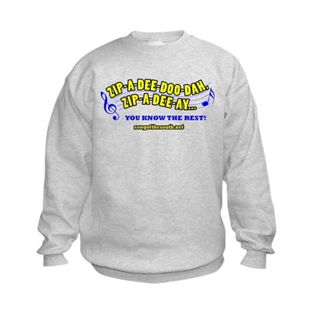 zipadeedoodah Kids Sweatshirt
