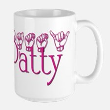 Patty-fushia Large Mug