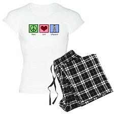 Peace Love Lifeguard Pajamas