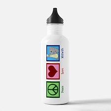 Peace Love Midwife Sports Water Bottle