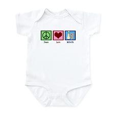 Peace Love Midwife Infant Bodysuit