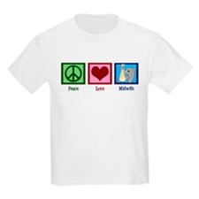 Peace Love Midwife T-Shirt
