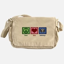 Peace Love Radiology Messenger Bag