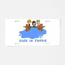 forksTkids.png Aluminum License Plate