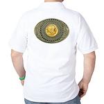 Indian gold oval 2 Golf Shirt