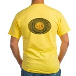 Indian gold oval 2 Yellow T-Shirt