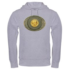 Indian gold oval 2 Hoodie