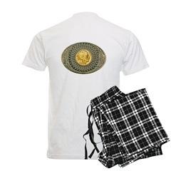 Indian gold oval 2 Pajamas