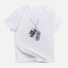 Air Force Baby Dog Tags Infant T-Shirt