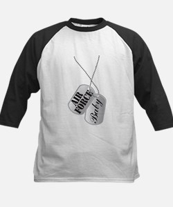 Air Force Baby Dog Tags Tee