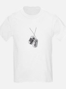 Air Force Baby Dog Tags T-Shirt