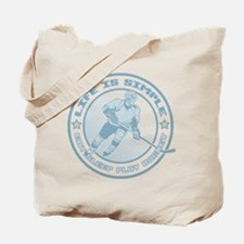 Eat, Sleep, Play Hockey Tote Bag