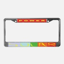 solar power bumper1.png License Plate Frame