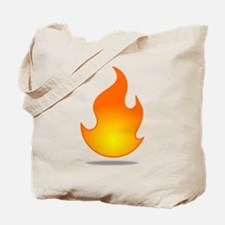 fire.png Tote Bag