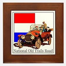 National Old Trails Road Framed Tile