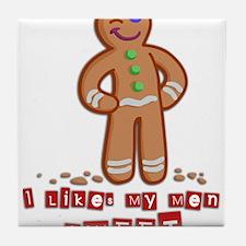 GingerBread.png Tile Coaster