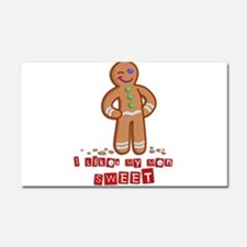 GingerBread.png Car Magnet 20 x 12
