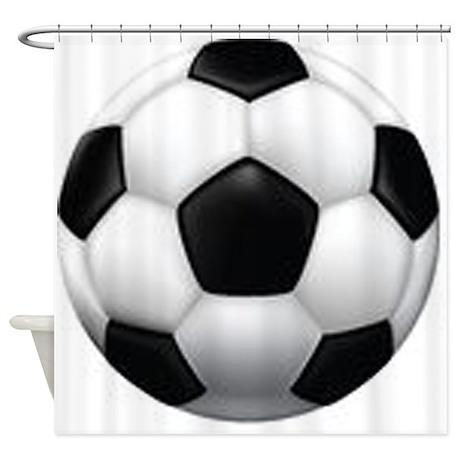 Soccer Ball Shower Curtain